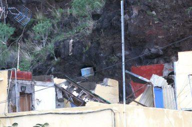 En la foto de Sergio Méndez se aprecia el daño en las viviendas