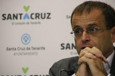 Ramón Trujillo es el portavoz de Unidas Podemos en Santa Cruz
