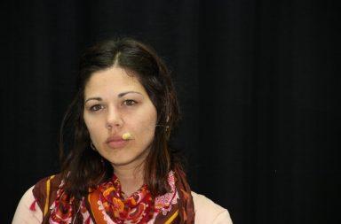 Yaiza Gorrín, portavoz adjunta de Unidas Podemos