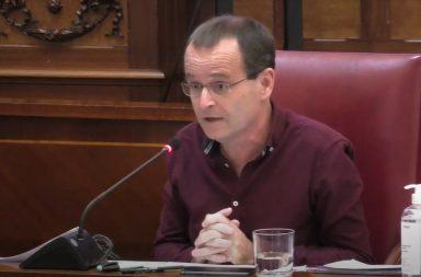 Ramón Trujillo, portavoz de Unidas Podemos en Santa Cruz.