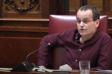 Ramón Trujillo en el pleno de Mayo 2020