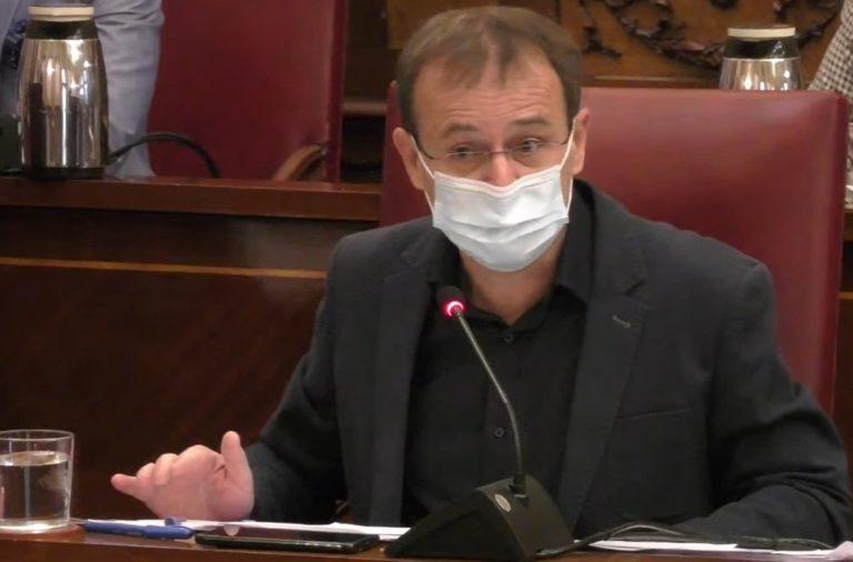 """Unidas Podemos presenta una enmienda a la totalidad a los presupuestos de Santa Cruz porque no """"responden a la crisis generada por la pandemia»"""